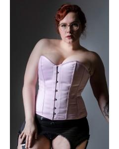 Kinnaird Ireland Dita Corset in Pink Duchess Satin