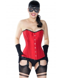 Playgirl Red Overbust Waist Trainer Corset