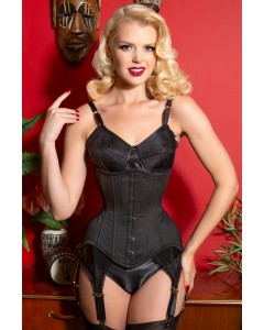 Curvella Long 24 Bone Full Hips Cotton Waist Training Corset