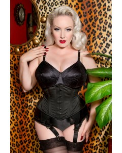 Plus Size Mimi Cotton Waist Training Waspie Corset